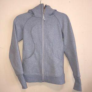 Baby blue scuba hoodie